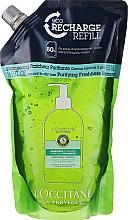 Düfte, Parfümerie und Kosmetik Erfrischendes Shampoo für normales und fettiges Haar - L'Occitane Aromachologie Purifying Freshness Hair Shampoo (Doypack)