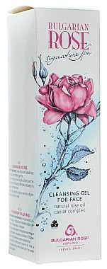 Gesichtsreinigungsgel - Bulgarian Rose Signature Cleaning Gel — Bild N2