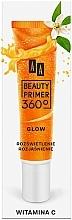 Düfte, Parfümerie und Kosmetik Make-Up Base mit Vitamin C - AA Beauty Primer 360 Glow Make-Up Base Vitamin C