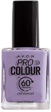 Nagellack in nur 60 Sekunden - Avon Pro Colour In 60 Seconds Nail Enamel — Bild N1
