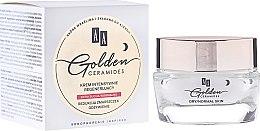 Düfte, Parfümerie und Kosmetik Intensiv regenerierende Nachtcreme für trockene und normale Haut - AA Cosmetics Golden Ceramides Intensive Regenerating Night Cream
