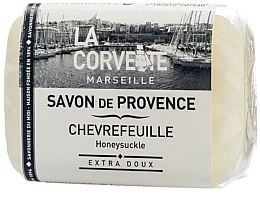 Düfte, Parfümerie und Kosmetik Naturseife Honeysuckle - La Corvette Soap of Provence Honeysuckle Scented Soap