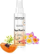 Düfte, Parfümerie und Kosmetik Parfümiertes Körperspray mit Papaya und Plumeria - Allvernum Nature's Essences Body Mist