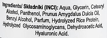 Conditioner mit Mandelöl und Hyaluronsäure ohne Ausspülen - Nacomi No-Rinse With Sweet Almond & Hyaluronic Acid Conditioner — Bild N3