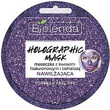 Düfte, Parfümerie und Kosmetik Gesichtsmaske mit Hyaluronsäure - Bielenda Holographic Mask Peel-Off