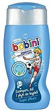 Düfte, Parfümerie und Kosmetik 3in1 Shampoo, Duschgel und Schaumbad für Kinder mit Prebiotikum und Haferextrakt Super Fußballspieler - Bobini