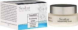 Düfte, Parfümerie und Kosmetik Feuchtigkeitsspendende Tagescreme mit Hanfextrakt und Hanföl - Sostar Cannabidiol Moisturizing Cream