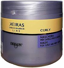 Düfte, Parfümerie und Kosmetik Pflegemaske für lockiges Haar - Dikson Keiras Urban Barrier Curly Mask