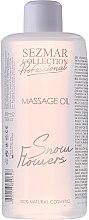 Düfte, Parfümerie und Kosmetik Massageöl Schneeblumen - Hristina Cosmetics Sezmar Professional Massage Oil Snow Flowers