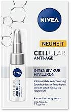 Düfte, Parfümerie und Kosmetik Anti-Aging Cellulares Gesichtsserum mit Hyaluronsäure - Nivea CELLular Anti-Age Intensive Cure Hyaluron