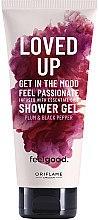 Düfte, Parfümerie und Kosmetik Duschgel mit Pflaume und schwarzem Pfeffer - Oriflame Feel Good Loved Up Shower Gel