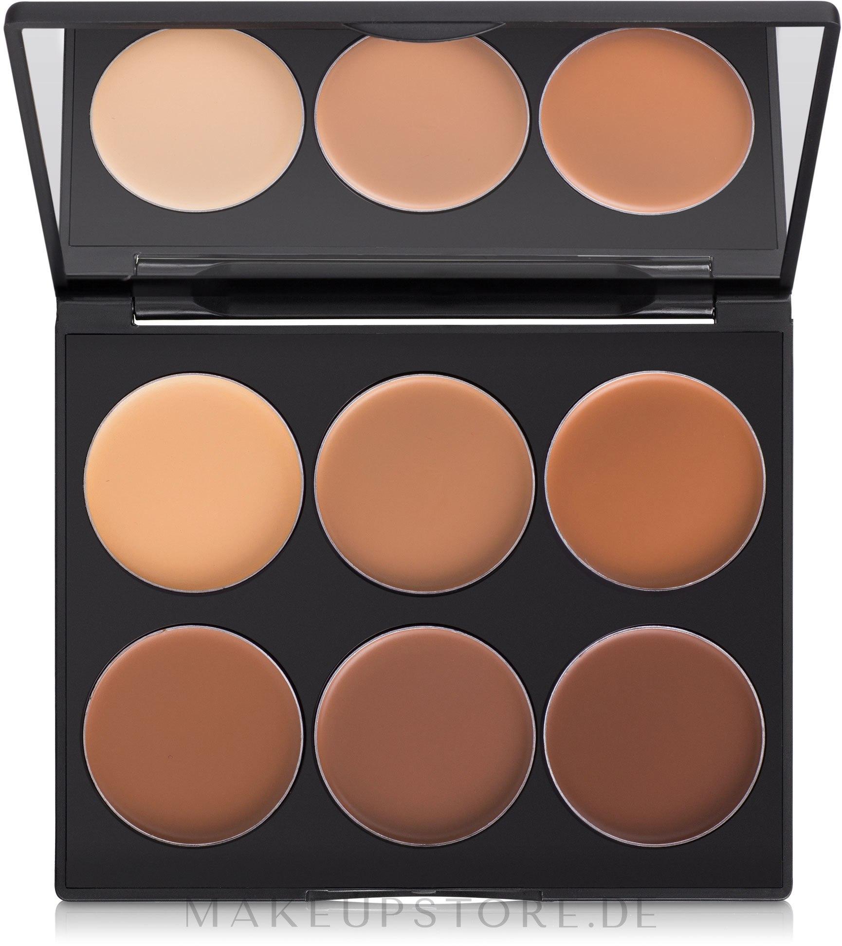 Highlighter Gesichtspalette - Sleek MakeUP Cream Contour Kit — Bild Dark