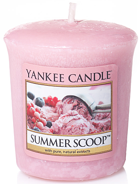 Votivkerze Summer Scoop - Yankee Candle Summer Scoop Sampler Votive — Bild N1