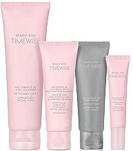 Düfte, Parfümerie und Kosmetik Gesichtspflegeset - Mary Kay TimeWise Age Minimize 3D (Gesichtsreinigungslotion 127g + Tagescreme 48g + Nachtcreme 48g + Augencreme 14g + bag)