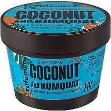 Düfte, Parfümerie und Kosmetik Körpercreme mit Kokosnuss und Kumquat - Cafe Mimi Body Cream Coconut And Kumquat