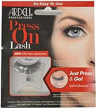 Düfte, Parfümerie und Kosmetik Künstliche Wimpern - Ardell Press On Lashes 101 Black
