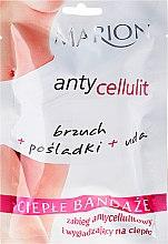 Düfte, Parfümerie und Kosmetik Anti-Cellulite Wärmeverbände - Marion Anti-Cellulite Hot Bandages