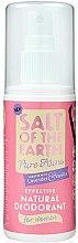 Düfte, Parfümerie und Kosmetik Deospray mit Lavendel- und Vanilleduft - Salt of the Earth Pure Aura Natural Deodorant Spray