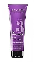 Düfte, Parfümerie und Kosmetik Regenerierendes Shampoo mit Keratin für trockenes und stapaziertes Haar - Revlon Professional Be Fabulous Hair Recovery Cuticle Sealer Shampoo