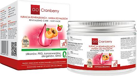 Maske für gefärbtes und strapaziertes Haar mit Moosbeere - GoCranberry Revitalizing Hair Mask — Bild N1
