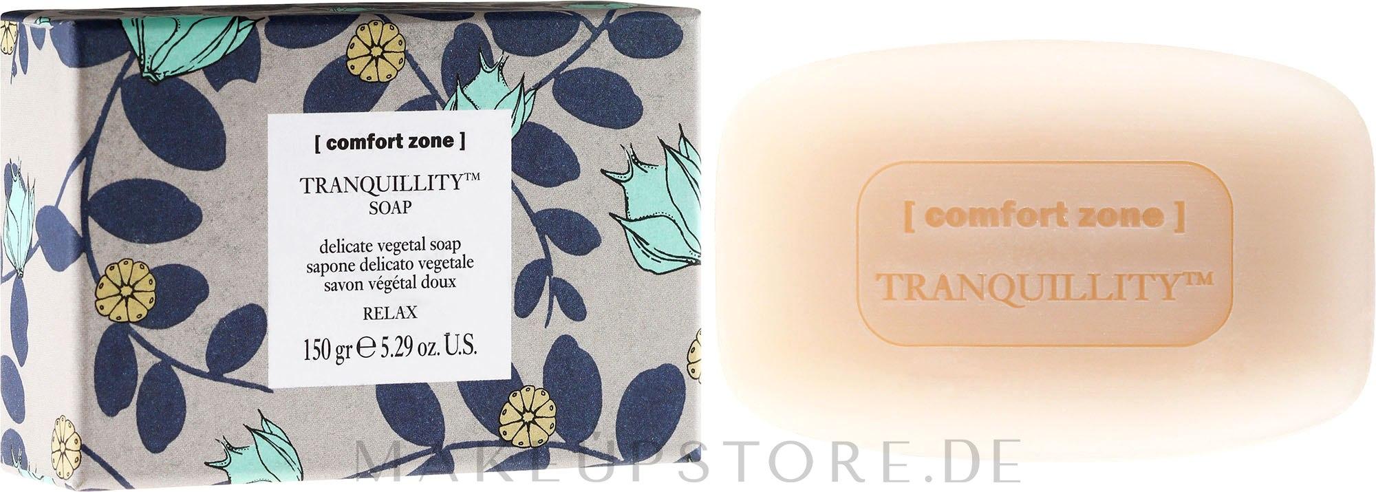 Parfümierte Körperseife - Comfort Zone Tranquillity Soap — Bild 150 g