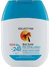 Düfte, Parfümerie und Kosmetik Feuchtigkeitsspendender After Sun Balsam S.O.S - Kolastyna After Sun S.O.S 24h Balsam (mini)