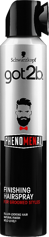 Finishing-Haarspray - Schwarzkopf Got2b Phenomenal Finishing Hairspray
