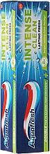 Düfte, Parfümerie und Kosmetik Zahnpasta Intense Clean Lasting Fresh - Aquafresh Intense Clean Lasting Fresh Toothpaste