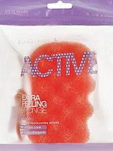 Düfte, Parfümerie und Kosmetik Peelingschwamm orange - Suavipiel Active Esponja Extra Peeling