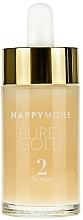 Düfte, Parfümerie und Kosmetik Samtiges ölfreies Gesichtsserum mit Vitaminen A, C und E - Happymore Pure Gold Serum 2