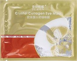 Düfte, Parfümerie und Kosmetik Augenmaske gegen Schwellungen und dunkle Ringe mit Kollagen - Pilaten Crystal Collagen Eye Mask Anti-Puffiness Dark Circle
