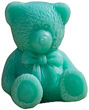 Düfte, Parfümerie und Kosmetik Handgemachte Glycerinseife Teddybär mit Kiwi Duft - LaQ Happy Soaps Natural Soap