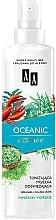 Düfte, Parfümerie und Kosmetik Tonisierender und erfrischender Gesichtsnebel mit Meeresmineralien - AA Oceanic Essence