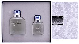 Düfte, Parfümerie und Kosmetik Dolce & Gabbana Light Blue pour Homme - Duftset (Eau de Toilette/125ml + Eau de Toilette/40ml)