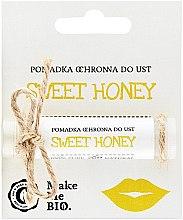 Düfte, Parfümerie und Kosmetik Schützendes Lippenbalsam SPF 10 - Make Me BIO Sweet Honey
