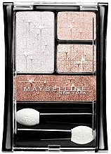 Düfte, Parfümerie und Kosmetik Lidschatten - Maybelline Expert Wear Luminous Lights Eyeshadow Quad