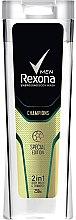 Düfte, Parfümerie und Kosmetik 2in1 Shampoo & Duschgel - Rexona Men Champions Energising Body Wash & Shampo
