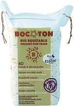 Düfte, Parfümerie und Kosmetik Quadratische Wattepads 75x75 mm 40 St. - Bocoton