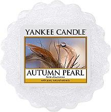 Düfte, Parfümerie und Kosmetik Tart-Duftwachs Autumn Pearl - Yankee Candle Autumn Pearl Wax Melt