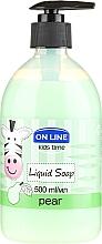 Düfte, Parfümerie und Kosmetik Flüssigseife mit Birnenduft für Kinder - On Line Kids Time Liquid Soap Pear