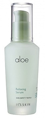 Beruhigendes Gesichtsserum mit Aloe Vera-Extrakt - It's Skin Aloe Relaxing Serum — Bild N2