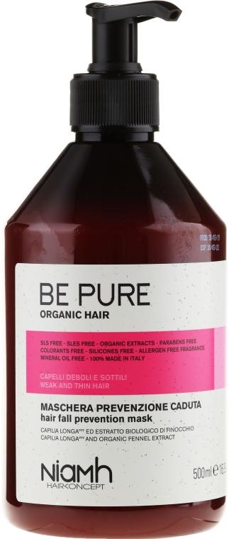 Maske gegen Haarausfall - Niamh Hairconcept Be Pure Hair Fall Prevention Mask — Bild N1