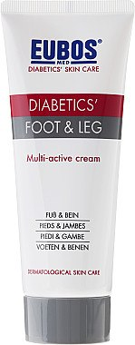 Multiactive Fuß- und Beincreme - Eubos Med Diabetic Skin Care Foot & Leg — Bild N2