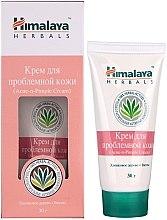 Düfte, Parfümerie und Kosmetik Gesichtscreme für Problemhaut - Himalaya Herbals