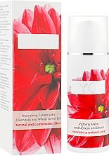 Düfte, Parfümerie und Kosmetik Nährende Gesichtscreme mit Ringelblume und Weizenkeimöl für normale und Mischhaut - Ryor Nourishing Cream With Calendula And Wheat Germ Oil