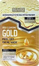 Düfte, Parfümerie und Kosmetik Gesichtsmaske - Beauty Formulas Deep Cleansing Gold Peel Off Facial Mask