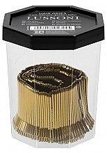 Haarnadeln 4 cm gold - Lussoni Hair Grips Golden — Bild N2