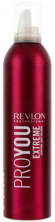 Volumen Schaumfestiger mit extra starkem Halt - Revlon Professional Pro You Extra Strong Hair Mousse Extreme — Bild N1