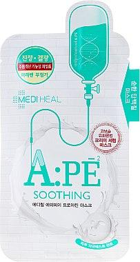 Beruhigende Tuchmaske mit Aminosäuren - Mediheal A:PE Soothing Proatin Mask — Bild N1