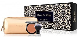 Düfte, Parfümerie und Kosmetik Makeup Set - Mesauda Milano Dare to Wear Kit -(Rouge + Rougepinsel)